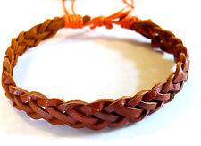 Bracelet Brésilien en Cuir Amitié Friendship Porte Bonheur Leather Porte Bonheur