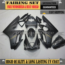 Matte Black Injection Fairing Kit for Triumph Daytona 675 2006-2008 Long Last UV