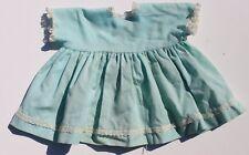 Vtg 1960s Light Blue Dress Up Doll Play Clothes / Clothing Ruffle Dress