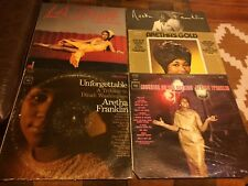 Aretha Franklin 5 LP Lot: Unforgettable, Laughing on the outside, GOLD, LA Diva