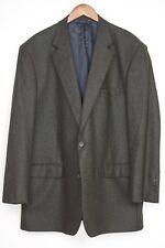 Brooks Brothers Madison Saxxon Wool Sport Coat 48L Brown Check Soft Feel Jacket