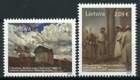 Lithuania Art Stamps 2020 MNH Collections Paintings Ruscicas Smuglevicius 2v Set