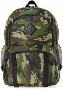 Freizeit Rucksack Tasche Ausflug militärisch camouflage Tarnfarbe