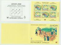 S36878 Bosnian Serbian Admin. Europa Cept MNH 2006 Booklet Integration