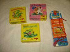 Haba Kinder Spiele Zahlendino, Fritz Froschprinz, Hipp Hipp Hura