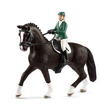 Schleich 42358 Showjumper With Horse (horse Club) Plastic Figure