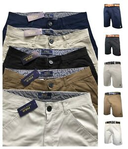 POLO RALPH LAUREN CHINOS MENS CASUAL SHORTS  ALL Size **STOCK CLEARANCE**