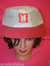 Isuzu Grey & Red Adjustable Cloth Baseball Cap Hat