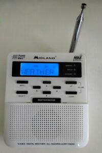 Midland Weather Radio WR-100 Public Alert NOAA Emergency EUC