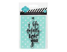 Heidi Swapp stamp & stencil set - I like totally love you