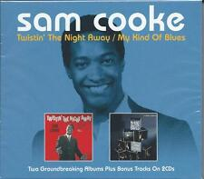 Sam Cooke - Twistin' The Night Away / My Kind Of Blues (2CD 2014) NEW/SEALED