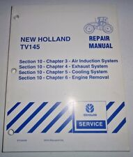 New Holland TV145 Tractor ENGINE REMOVAL,EXHAUST,COOLING Service Repair Manual