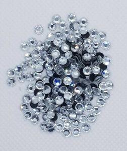 Hotfix Strasssteine Crystal, AAA-Qualität, Menge und Grösse wählbar