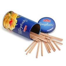 Wooden spaghetti in a tin by Erzi toy pretend play shop food kitchen grocery