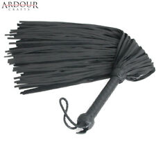 Genuine Cow Hide Thick Leather  Flogger 100 Tails Heavy & Thuddy impact Whip