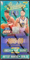2019-20 Panini Absolute Memorabilia Basketball NBA Sealed Hobby Box Zion Morant?