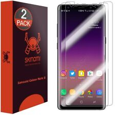 Skinomi Clear (2-Pack) Edge To Edge Screen Protectors For Samsung Galaxy Note 8