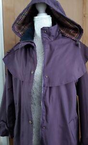 TARGET DRY Long Length Waterproof Coat/Detachable Hood Size 12  Walking/Outdoor