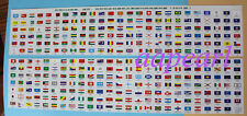 New 295 countries Regions flags 2014 edition Collections 20mm*25mm Uncirculated