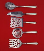 William and Mary by Lunt Sterling Silver Brunch Serving Set 5pc Custom Made