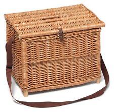 Traditional Wicker Fishing Basket