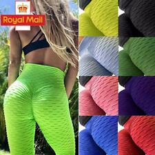 Women Anti-Cellulite Yoga Pants High Waist Fitness Gym Leggings Scrunch Trousers