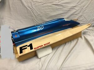 RC Tunnel Hull Boat, FE brushless. Plywood Hull.