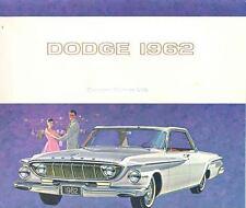 1962 Dodge Dart Brochure Canada wn6086-EUZDW6