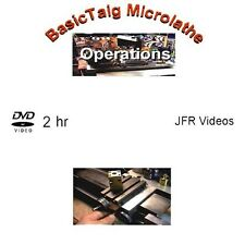 Basic Taig Micro Lathe Operations (DVD) / Jose Rodriguez / micro machining