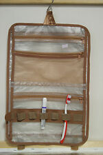 Hanging Cosmetic Case / Toiletry Travel  Makeup Bag / Jewelry Bag
