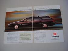 advertising Pubblicità 1992 CITROEN XM BREAK