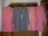 3/4 Sleeve Scoop Neck T-Shirts Sonoma size XL,L,M,Some Striped Color NWT