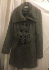 GREY AUTUMN WINTER COAT SIZE 10