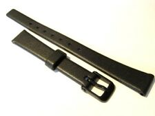 12mm Black Casio Watch Strap. Genuine Casio.Fast delivery from UK