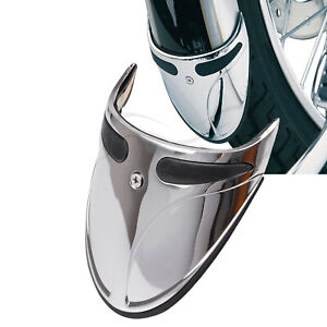 Motorcycle Fender Extension Mud Flap Narrow For Harley Softail Deuce FXSTD Dyna