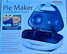 Vintage Cooks Professional Pie Maker With Box And Manual. BRAND NEW