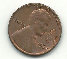 A VINTAGE HIGH GRADE 1964 P AU DETAILS LINCOLN CENT-MASONIC-JUN189