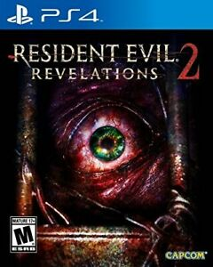PLAYSTATION 4 PS4 GAME RESIDENT EVIL REVELATIONS 2 BRAND NEW SEALED