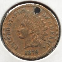 1879 Indian Head Cent 1c High Grade XF Details #10883