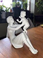 MCM  Axia Ceramic Nude Woman Figurine Hand Made In Spain 12 34 inches Tall