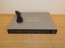 Cisco SF200-48P 48  Fast Ethernet PoE, 2 Gigabit Ethernet ports, Switch