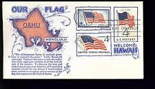1960 FDC - Scott# 1153 COMBO - American Flag - Boerger Cachet   #2  UA