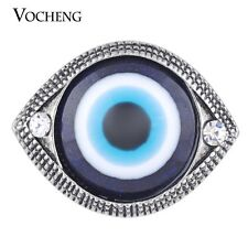 Snap Charms Vocheng 18mm Blue Eyes Interchangeable Button Jewelry Vn-1136