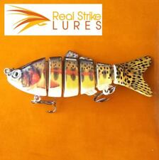 10cm swimbait Lures Trout Redfin Murray Cod Fishing Lure Yellowbelly