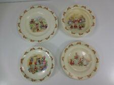 Bunnykins Royal Doulton Plates and Bowl