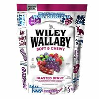 Wiley Wallaby Soft & Chewy Gourmet Australian Licorice 10oz PICK YOUR FLAVORS!