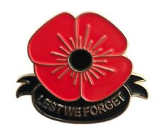 BREN GUN Poppy Lapel Pin Badge Remembrance Day machine gun double pin