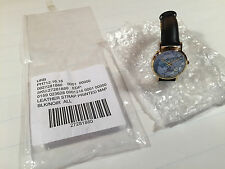 Urban Outfitters wrist watch world stamp with leather strap