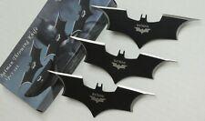 "6"" Long Batman Knife Stainless Steel Blade 3pcs Set In Nylon Sheath - OVERSTOCK"