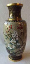 "Elegant Vintage Chinese Cloisonne Vase 9-1/2"""